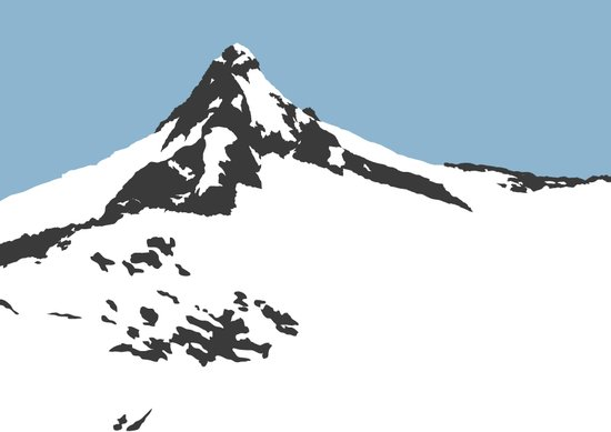 Mount Aspiring Art Print