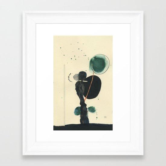 Déjame Pasar (let me through) Framed Art Print