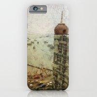 Taj Mahal Palace hotel and the Gateway of India monument, Mumbai, India iPhone 6 Slim Case