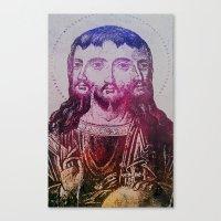 Thrice Christ Canvas Print