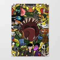 The Crypt Crowd Canvas Print