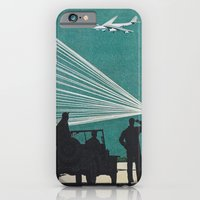 iPhone & iPod Case featuring Airport by WeLoveHumans