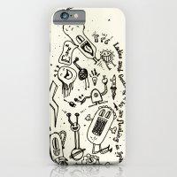 ladies and gentlemen we are floating in space iPhone 6 Slim Case