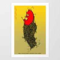 Chinese Zodiac Pig Art Print