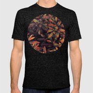 Leaves Evolved 5 Mens Fitted Tee Tri-Black SMALL