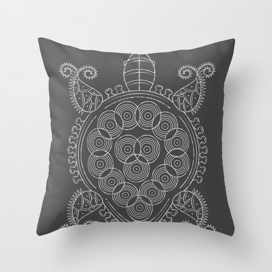 Pattern Tortoise  Throw Pillow