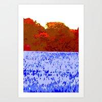 Volcanic Cloud Art Print