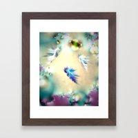 Seahorse Nursery Framed Art Print