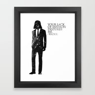 The Lord Of Fashion Framed Art Print