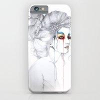 The Girl // Fashion Illu… iPhone 6 Slim Case