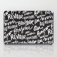 Bonjour Au Revoir iPad Case