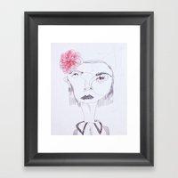 Cameo #8 Framed Art Print