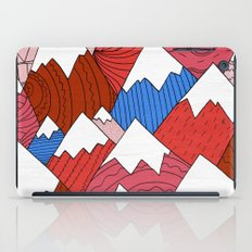The Red Mountains (Pattern) iPad Case