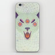 iPhone & iPod Skin featuring Cosmic Cat by LordofMasks