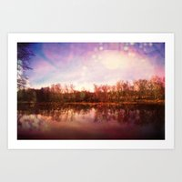 Catawba River Art Print