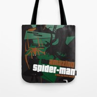 Amazing Spider-man Poste… Tote Bag