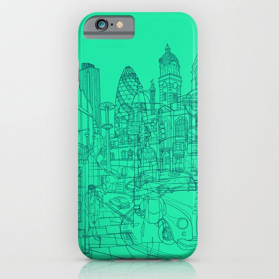 London! Mint iPhone & iPod Case