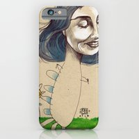 DINOSAUR GIRL iPhone 6 Slim Case
