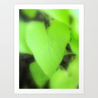 The Heart of Mother Earth Art Print
