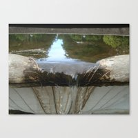 Bowing Out Canvas Print