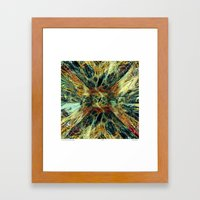 From the Vortex Comes the Idea Framed Art Print
