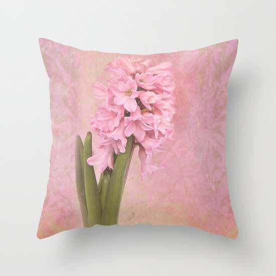 FORERUNNER OF THE SPRING Throw Pillow