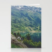 Alone Up North Stationery Cards