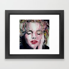 Beneath The makeup And behind The Smile Is A Girl Who Wishes To Be Loved Framed Art Print