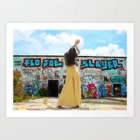 Flo Joe Art Print