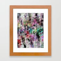A balance between we and they but the as yet I, vb Framed Art Print