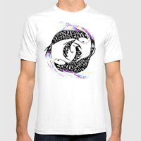 Water instinct Mens Fitted Tee White SMALL