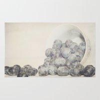 Spilled Blueberries Rug