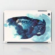 iPad Case featuring Midnight Owl by Robert Farkas