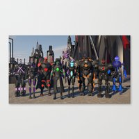 Where is… Canvas Print