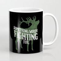 Something Worth Fighting For Mug