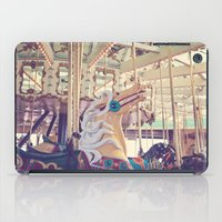Boardwalk Carousel iPad Case