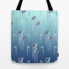 Fans & Feathers // Graphic Print Tote Bag