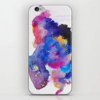 Worried Color iPhone & iPod Skin