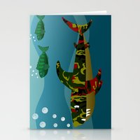 Le Requin Stationery Cards
