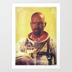 I am the one who goes into space Art Print