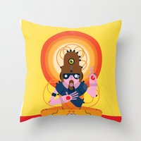 The Inscrutable Lord Ov … Throw Pillow