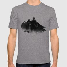 The Knight's Watch Mens Fitted Tee Tri-Grey SMALL