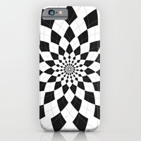 Black & White Argyle iPhone 6 Slim Case