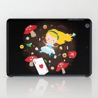 Alice Falling Down The R… iPad Case