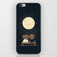 Moon Gazing iPhone & iPod Skin