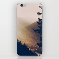 Sunrise In The Mountains… iPhone & iPod Skin
