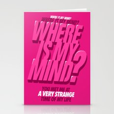 Where Is My Mind? Stationery Cards