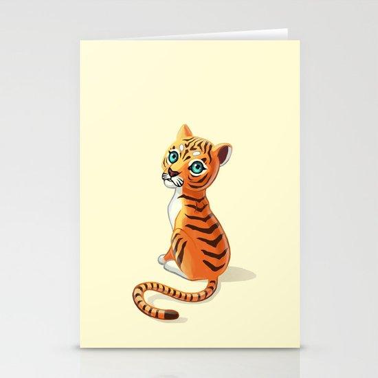 Tiger Cub Stationery Card