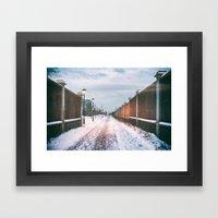 Lost In Winter Framed Art Print