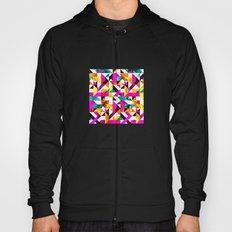 Textural Aztec Geometric  Hoody
